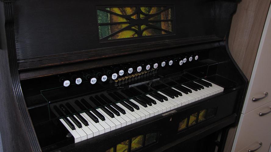 Harmonium - spielbereit